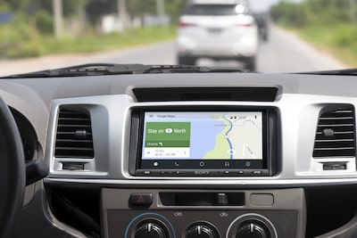 XAV-AX5000 Affichage des directions Android Auto