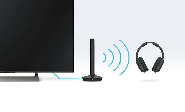 Wireless listening illustration