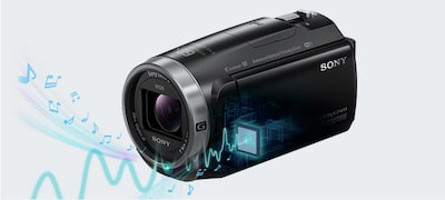 Picture of CX675 Handycam® with Exmor R® CMOS sensor