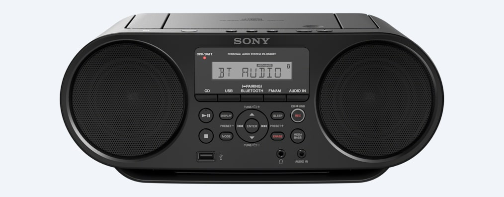 Images of CD Boombox with Bluetooth