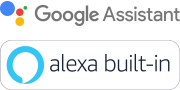 Logos Assistant Google et Amazon Alexa