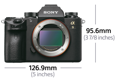Image de Appareil photo hybride plein format mirrorless α9