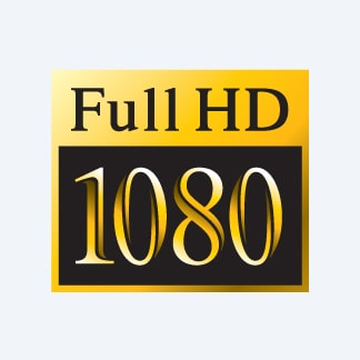 24p Full HD footage