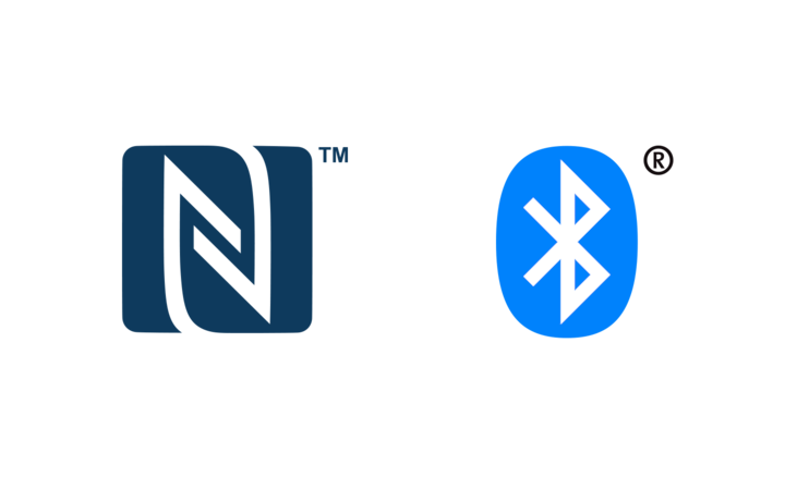 Logo NFC et Bluetooth<sup>MD</sup>