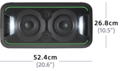 Picture of High-Power Home Audio System with BLUETOOTH technology