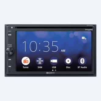 Image de Récepteur DVD Apple CarPlay/Android Auto<sup>MC</sup> de 6,4 po (16,3 cm)