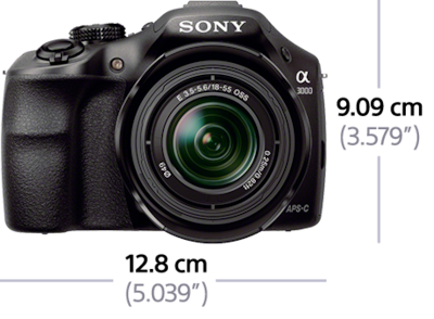 Picture of α3000 E-mount Camera with APS-C Sensor