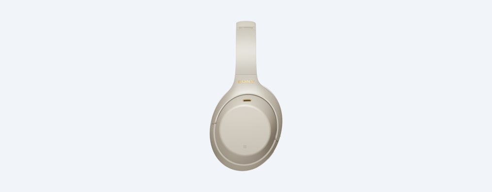 WH-1000XM4 headphones left side white
