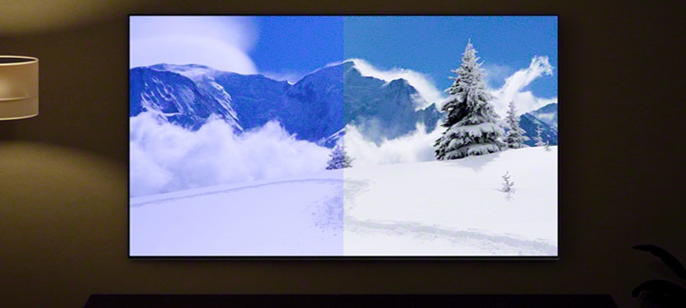 Image of screen showing benefit of Light and Colour Sensor
