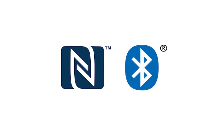 Logos NFC<sup>MC</sup> et Bluetooth<sup>MD</sup>