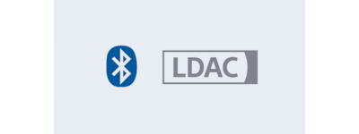 Logos de Bluetooth<sup>MD</sup> et de LDAC