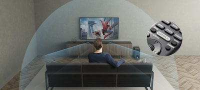 Picture of 3.1ch Dolby® Atmos/ DTS:X Soundbar with Wi-Fi®/Bluetooth® technology | HT-Z9F