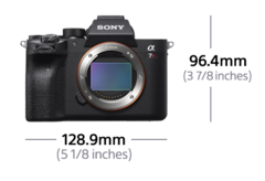 Picture of α7R IV 35 mm full-frame camera with 61.0 MP