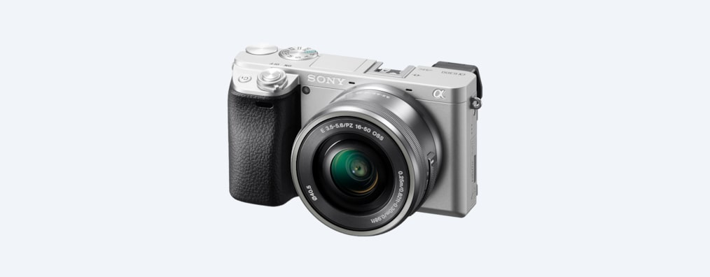 Images of α6300 E-mount camera with APS-C sensor