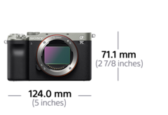 Picture of α7C compact full-frame camera