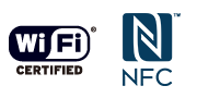 NFC™/Wi-Fi
