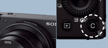 "Picture of RX100 III Advanced Camera with 1.0"" type sensor"