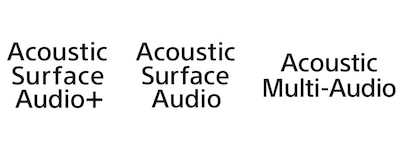 Acoustic Surface Audio logos