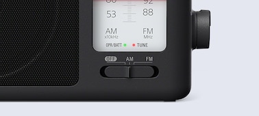 Picture of Analogue Tuning Portable FM/AM Radio