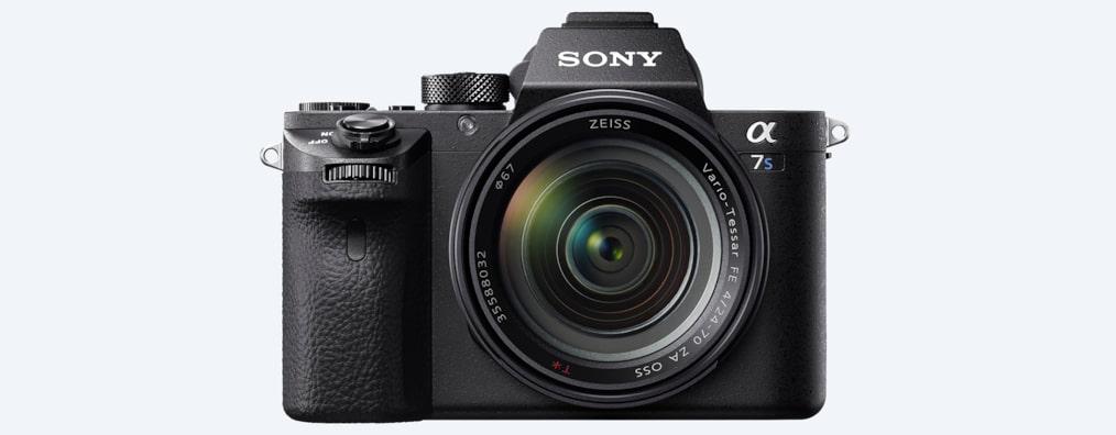 α7s ii e mount camera with full frame sensor ilce 7sm2 sony ca