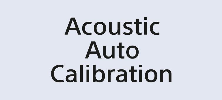 Acoustic Auto Calibration logo