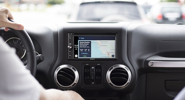 XAV-AX210 Apple CarPlay