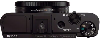 "Images of RX100 II Advanced Camera with 1.0"" type sensor"
