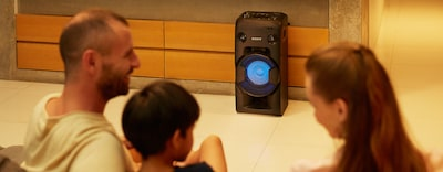 Images of High-Power Home Audio System with BLUETOOTH technology