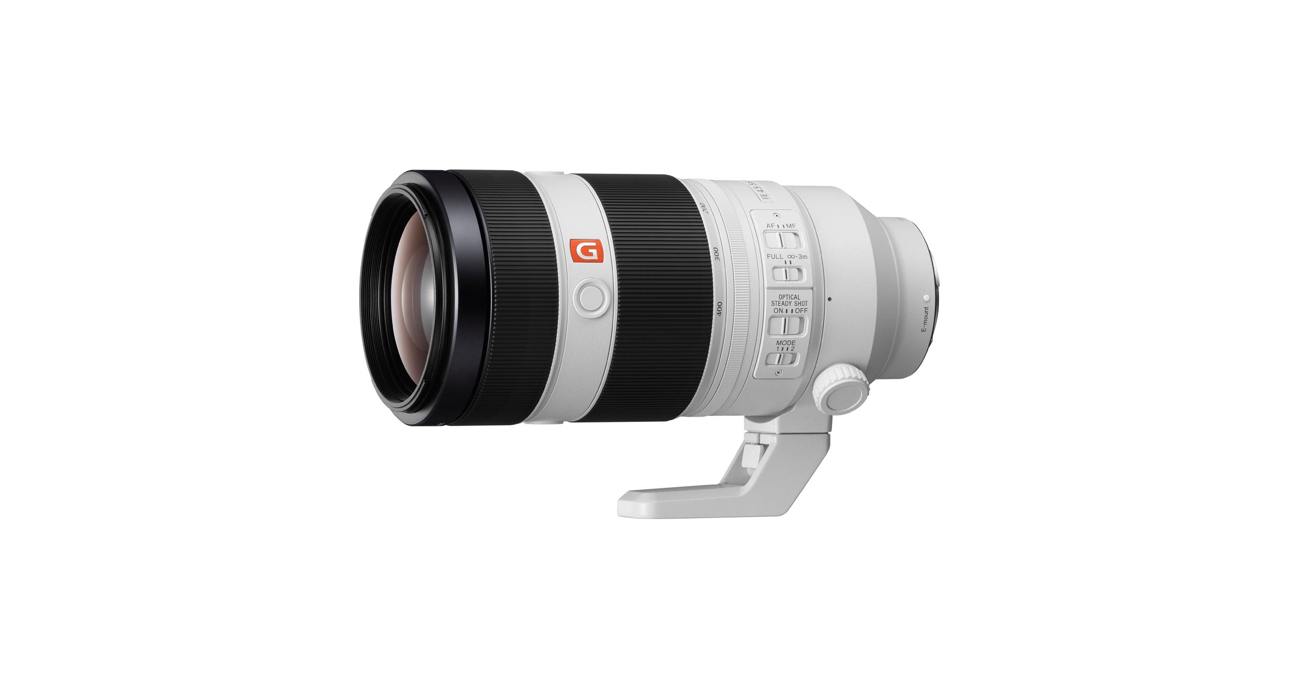 Sony FE 100-400mm super-telephoto zoom G Master lens