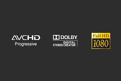 video format logos