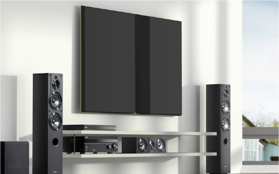 Sony home theatre surround sound experience
