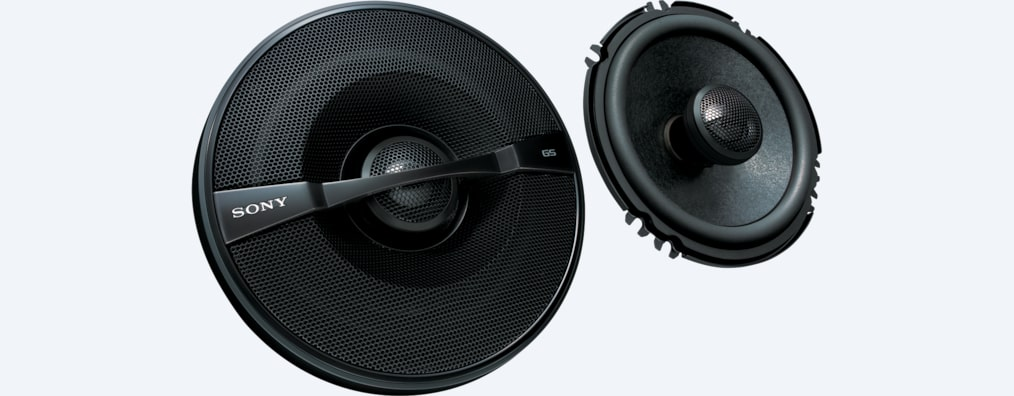 "Images of 6""1/2 (16 cm) GS 2-Way Coaxial Speakers"