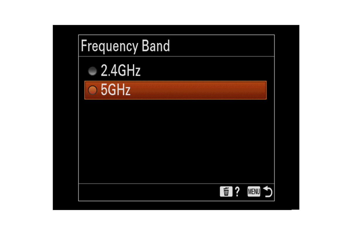 5 GHz Wi-Fi provided