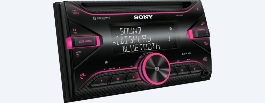 Images de Autoradio CD avec technologie BLUETOOTH<sup>MD</sup>