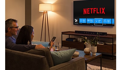 Launch Netflix and dim the lights