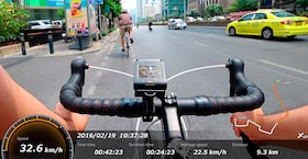 Display your Action Cam route