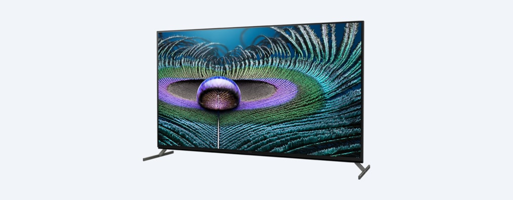Z9J BRAVIA XR TV angled shot