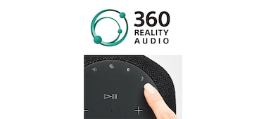 SRS-RA3000 Premium Wireless Speaker with Ambient Room Filling Sound 360 Reality Audio