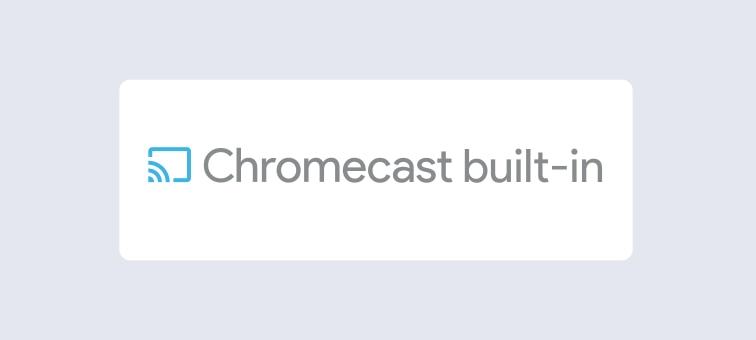 Chromecast built-in logo