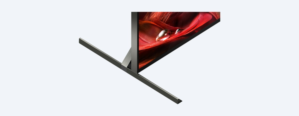 X95J BRAVIA XR TV close-up of stand