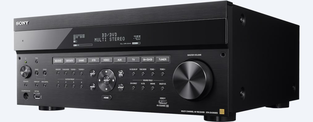 Images of 7.2ch AV Receiver for Custom Installation | STR-ZA3100ES